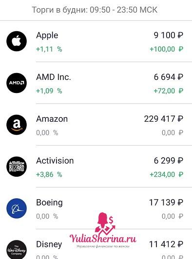 акцииамериканскийкомпанийнафондовойбирже
